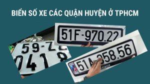 Biển số xe mang ý nghĩa rất quan trọng